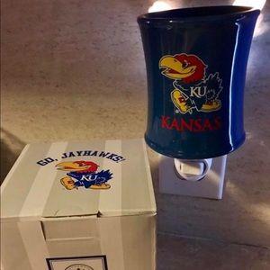Kansas KU Scentsy warmer brand new!